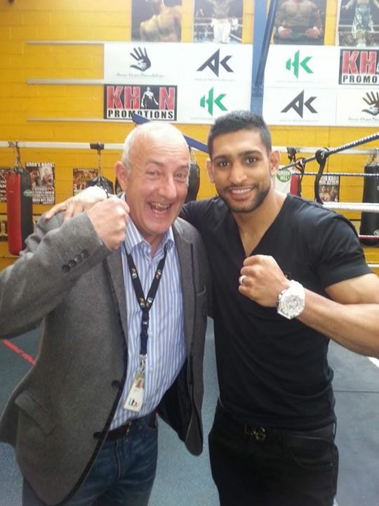 Croney and Amir Khan