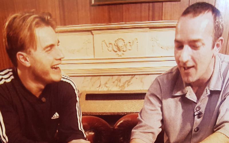 Croney and Gary Barlow